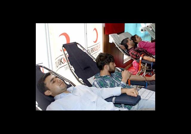Kan Bağışınının Neferi Oldular