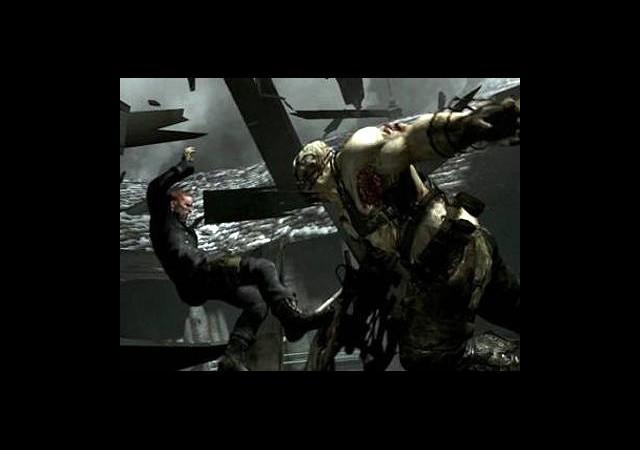 Resident Evil 6 Yüksekten Uçuyor