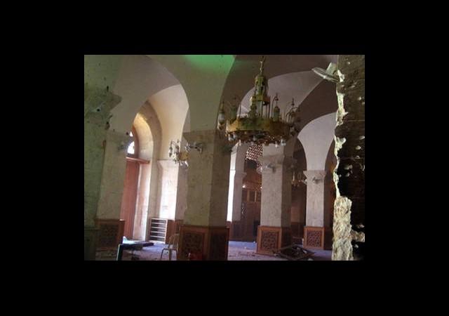 Tarihi Cami Özgür Suriye Ordusunun Kontrolünde