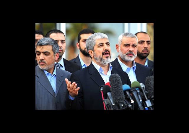 Hamas Lideri Gazze'de Konuştu