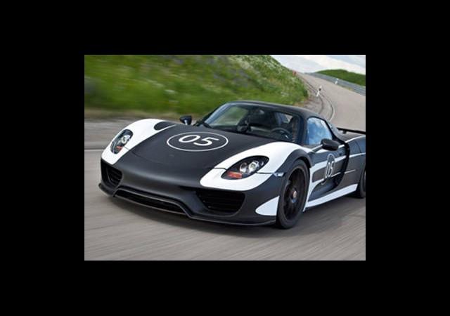 Porsche'den Hibrit Canavar: 918 Spyder