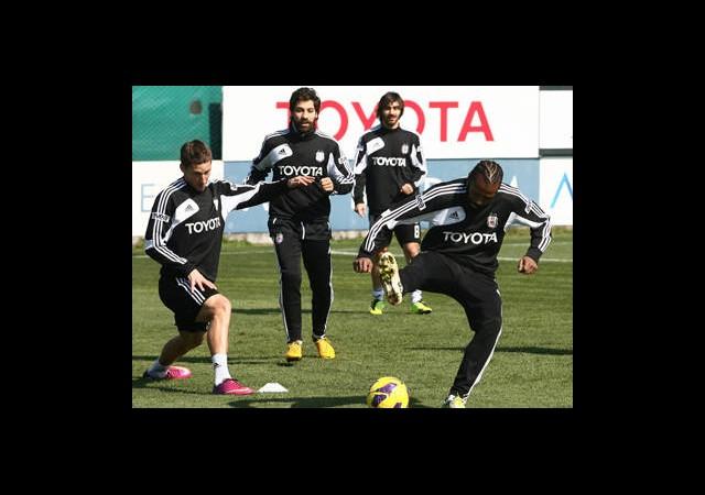 Beşiktaş'ın Derbi Hazırlığı