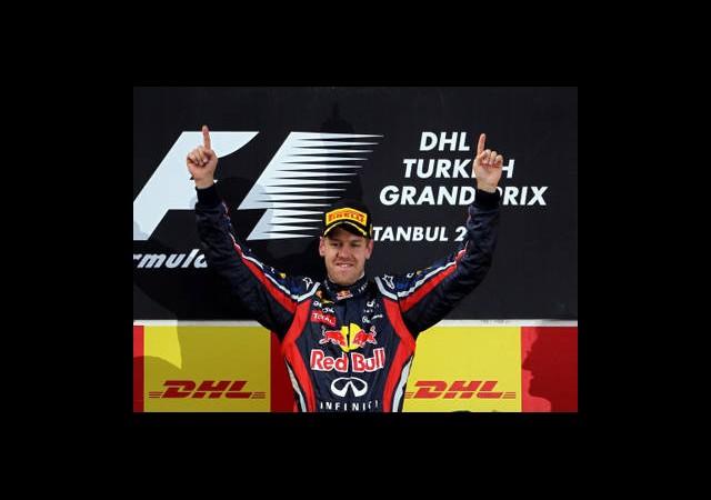 Vettel Şampiyonluk İçin Pistte