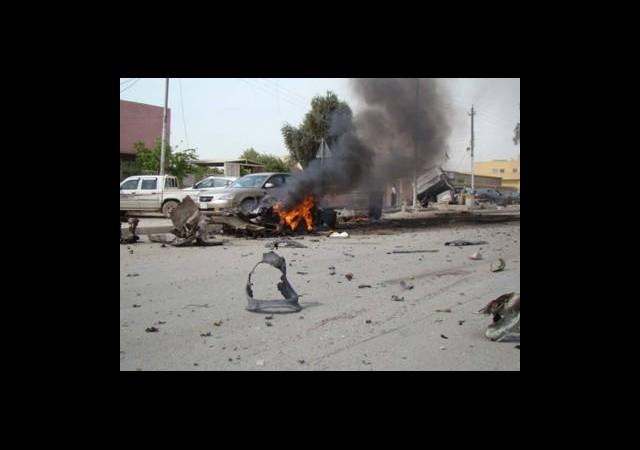 Bomba Yüklü 9 Araçla Saldırdılar