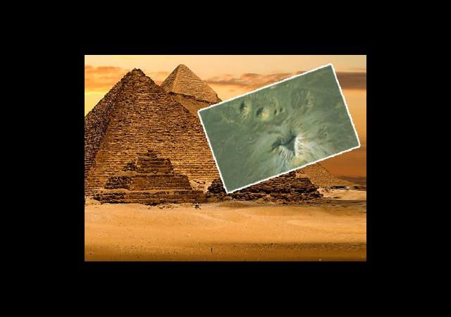 Kayıp Piramitleri Google Earth Buldu