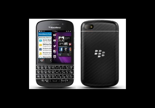 BlackBerry Q10 Tanıtıldı!