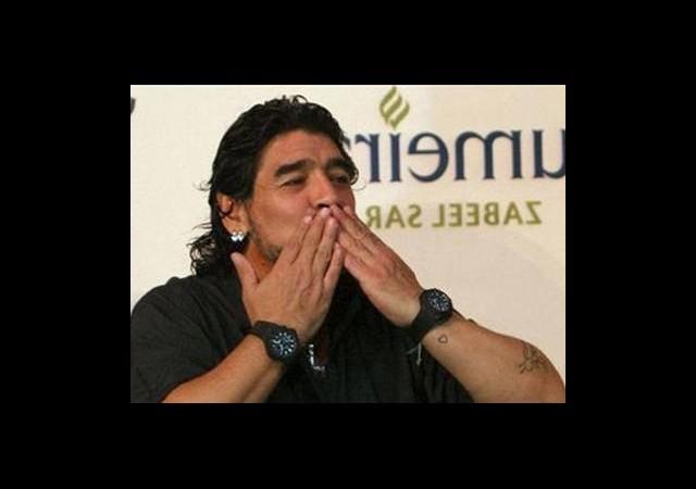 Bursaspor Taraftarı Maradona'yı İstiyor