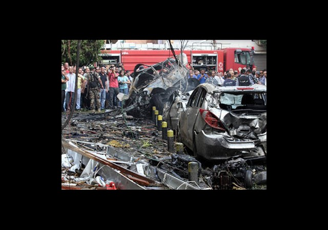Beyrut'ta Bombalı Saldırı