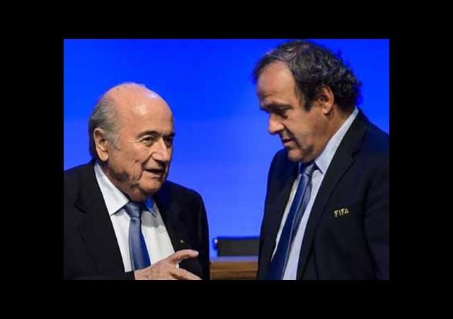 Platini'den şok Blatter açıklaması