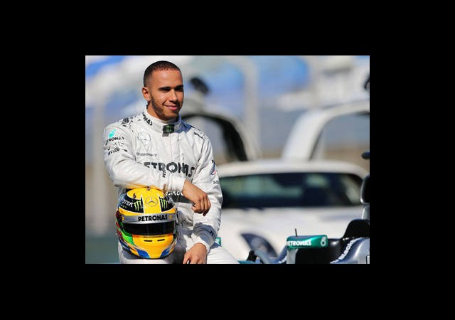 Barcelona'da En Hızlı Hamilton