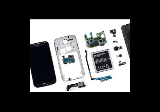 Samsung Galaxy S4 Paramparça