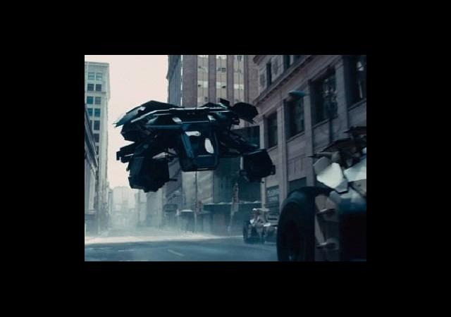 Yeni Batmobile, Hava Aracı mı?