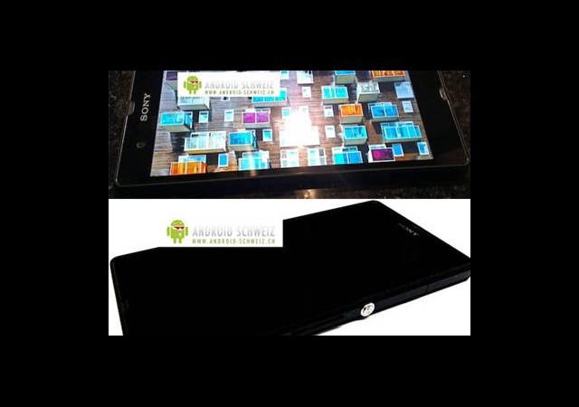 Sony'den 5inçlik Full HD Ekranlı Android Telefonu