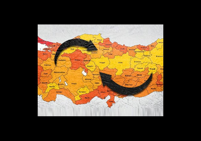 Türkiye'nin En Çok Göç Alan 3 İli