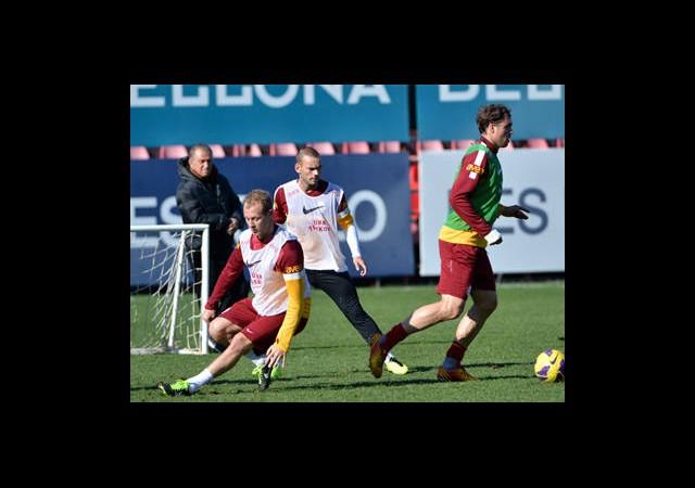 Sneijder Derbide Kulübede
