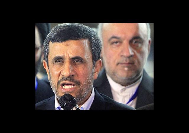 Ahmedinejad: İsrail'in Üzerine Yürümeye Hazırız