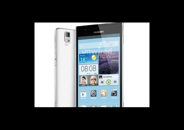 İşte Huawei'nin Son Bombası: Ascend P2
