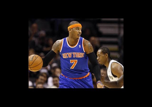 Knicks Spurs'ü Süpürdü