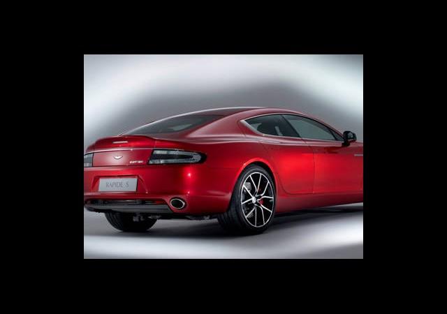Aston Martin Rapide S Gücüne Güç Kattı