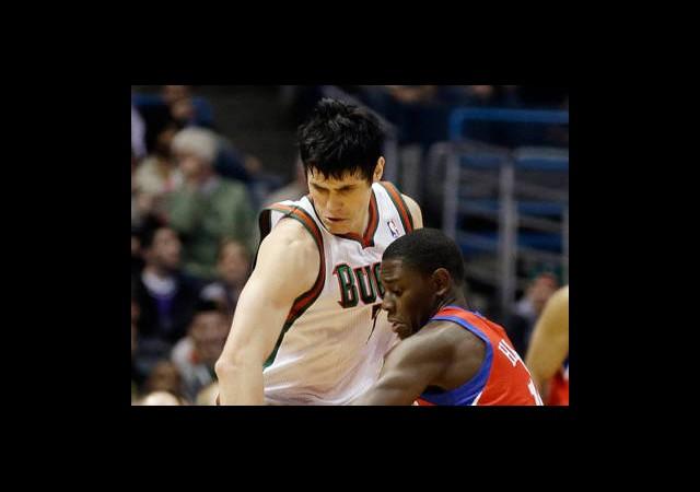 Ersanlı Bucks Pistons'ı Deplasmanda Yendi
