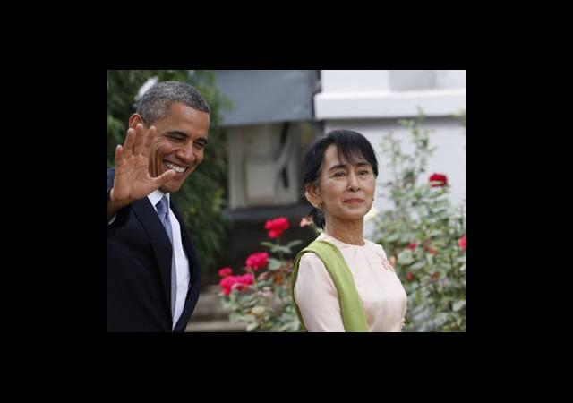 Myanmar'da Suu Çii, Yeniden Genel Başkan