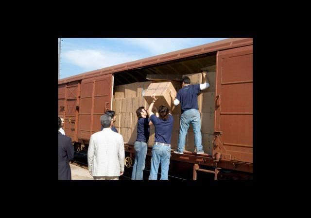 Trenler Geçen Yıl 25,7 Milyon Ton Yük Taşıdı