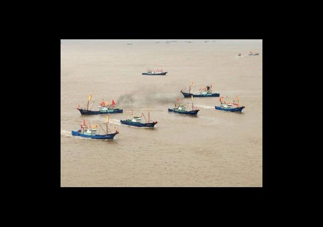Çin Japonya'ya Balıkçı Ordusuyla Meydan Okuyor