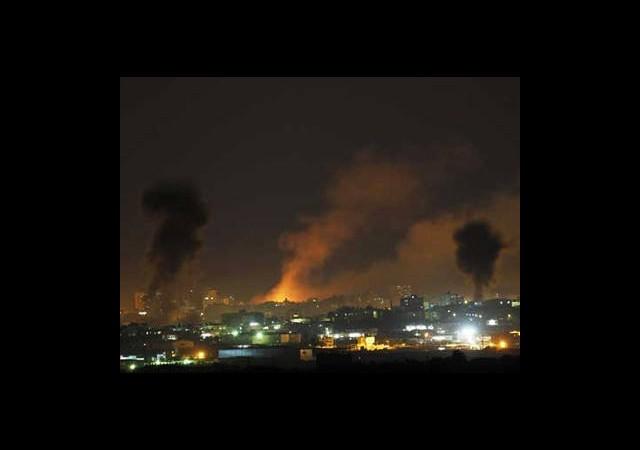 İsrail Saldırının Şiddetini Arttırdı