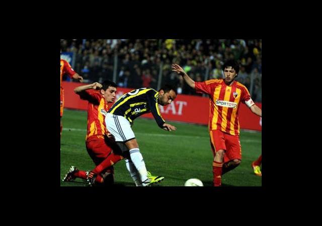 Kayserispor-Fenerbahçe Canlı Anlatım