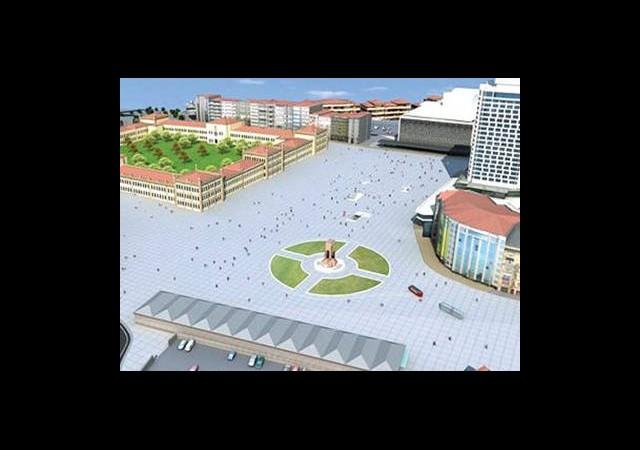 Taksim'in Yayalaştırılmasına Onay