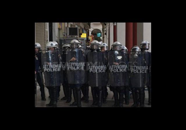 Yunanistan'da Kiralık Polis Dönemi