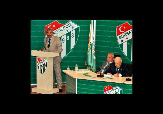 Bursaspor Olağan Genel Kurulu 6 Haziran'a Ertelendi