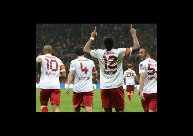 Galatasaray Şampiyonluk İçin Sahada