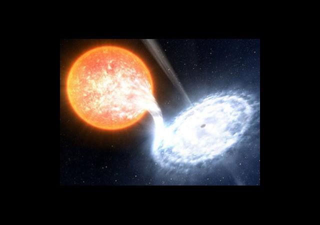 Galaksimiz Hızla Karadeliğe Sürükleniyor