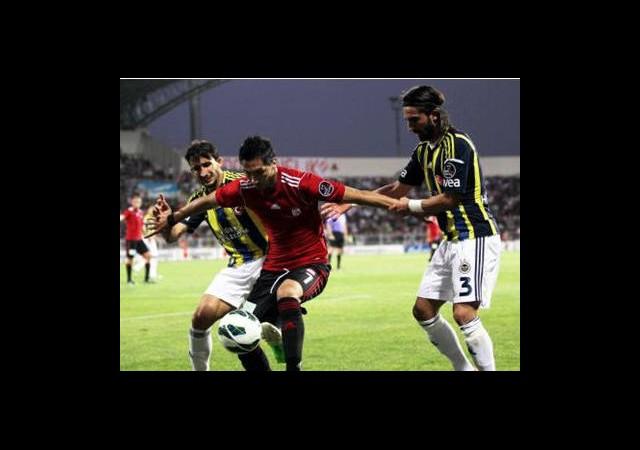 Sivasspor'un Çalımbay İle Fenerbahçe Karnesi