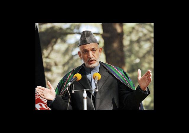 Karzai İsyan Etti