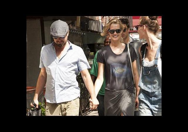 DiCaprio'ya sevgilisinden destek