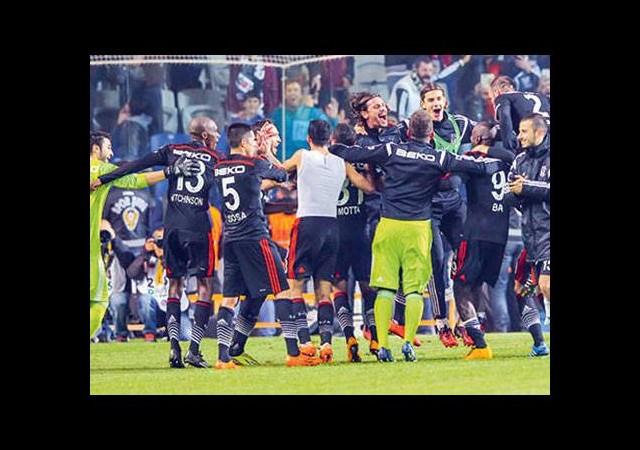 Beşiktaş kritik eşikte