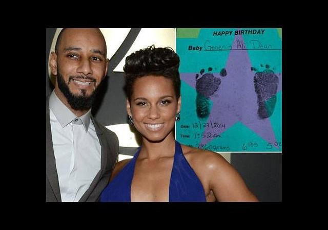 Alicia Keys doğum yaptı