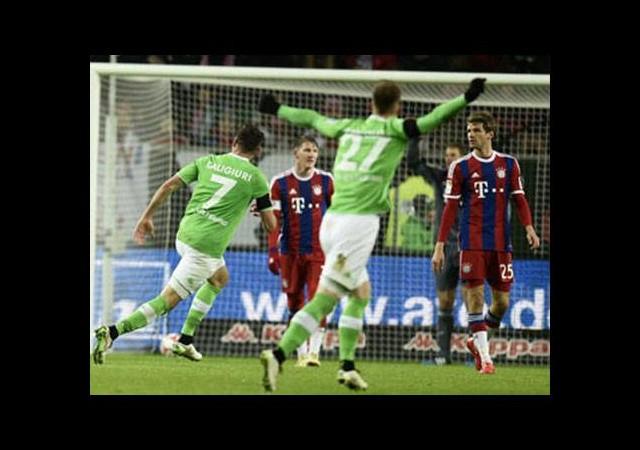 Bayern'e ağır darbe