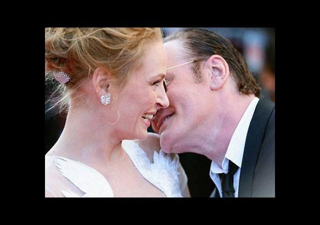 Ünlü yönetmenle dudak dudağa