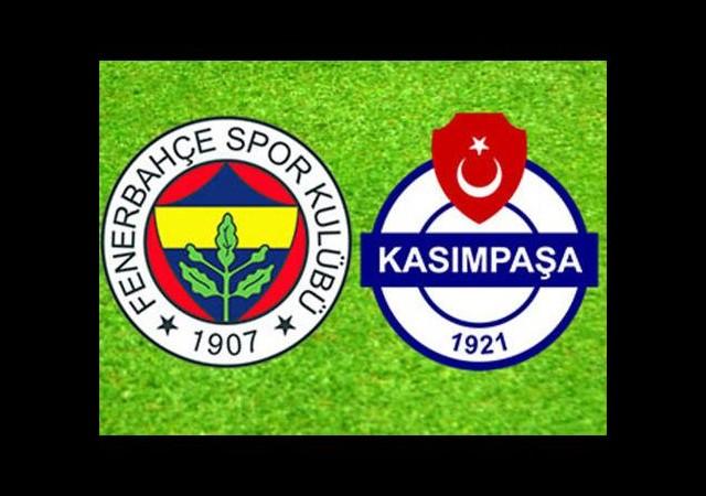 Fenerbahçe ile Kasımpaşa 23. maça çıkıyor