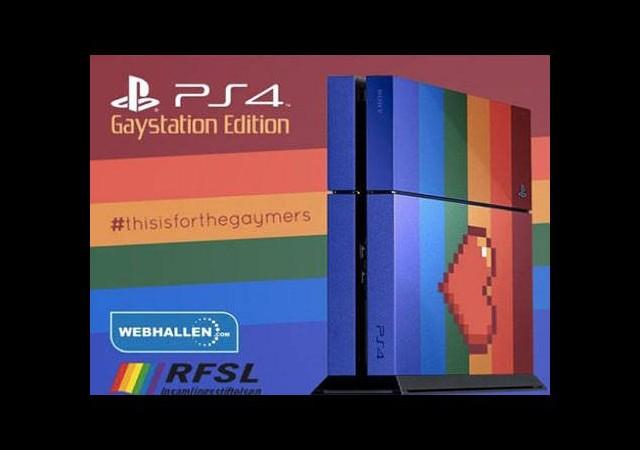 Eşcinsellere özel PlayStation