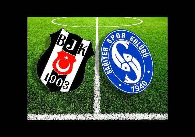 Beşiktaş Sarıyer maçı hangi kanalda saat kaçta yayınlanacak?