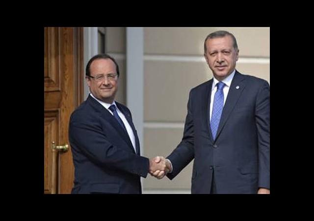 Erdoğan Hollande İle Görüştü