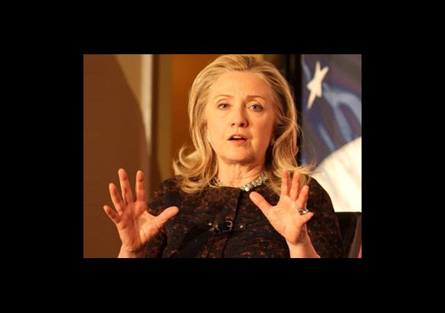 Clinton: 'Türkiye Hamas'ı İkna Etmeli'