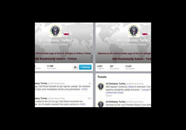 ABD Büyükelçiliği O Tweet'leri Sildi!