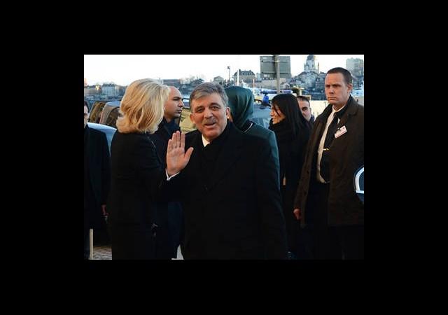 Abdullah Gül'den Yangın Açıklaması