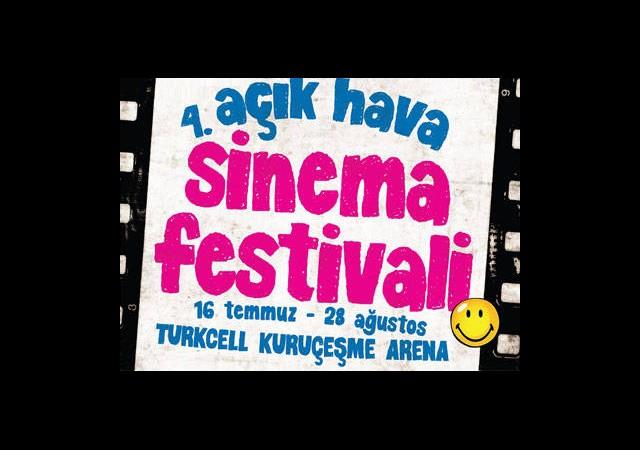 4. Açıkhava Sinema Festivali Başlıyor!