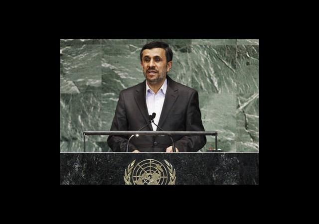 Ahmedinejad'dan BM'ye Suçlama